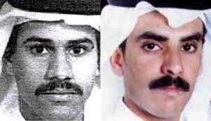Nawaf Alhazmi (left), and Khalid Almihdhar (right)